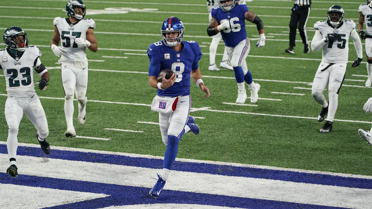 Daniel Jones' best plays through the air and on the ground | Giants vs. Eagles Highlights