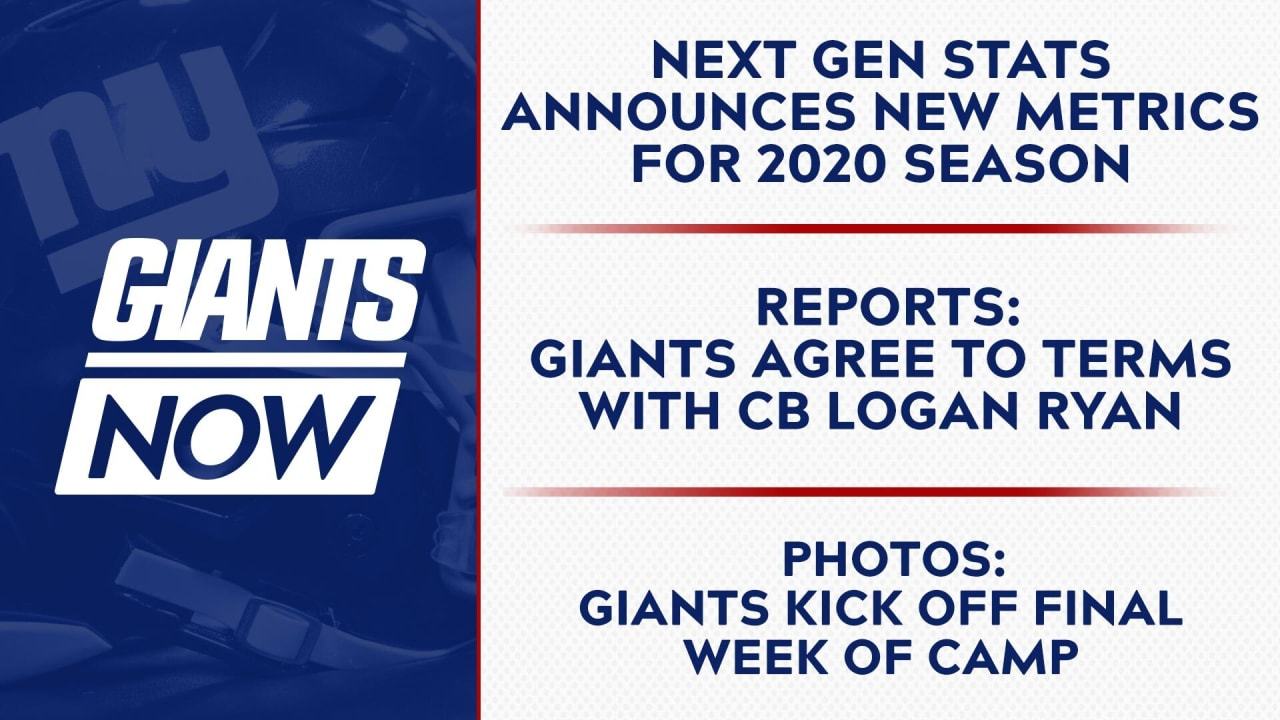 Giants Now: Next Gen Stats announces new advanced metrics for the 2020 season