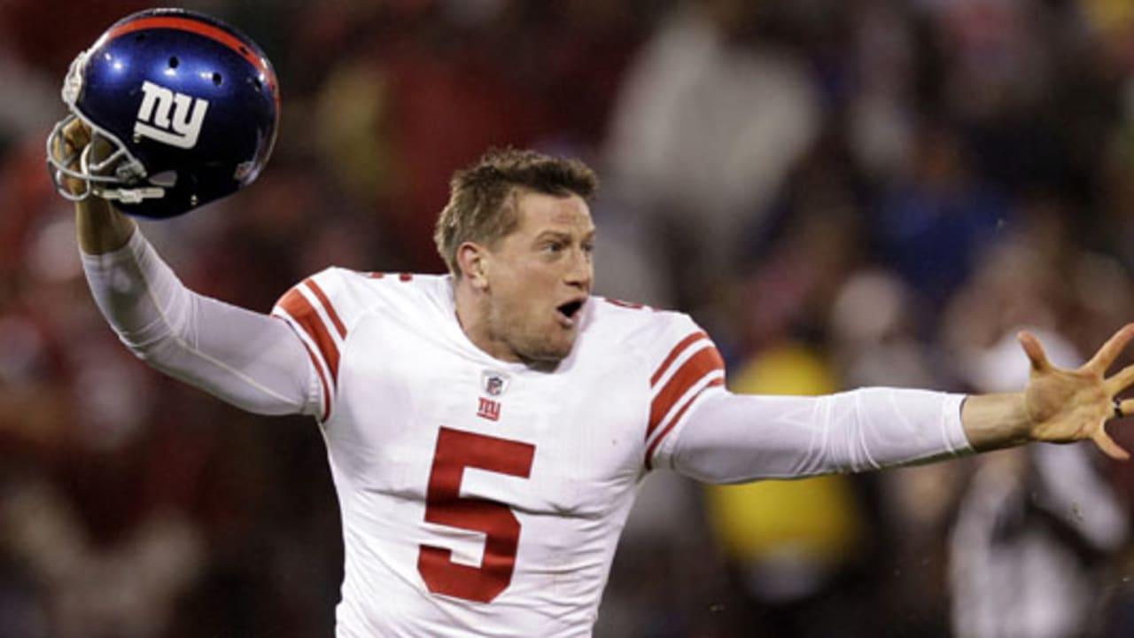 Giants re-sign punter Steve Weatherford