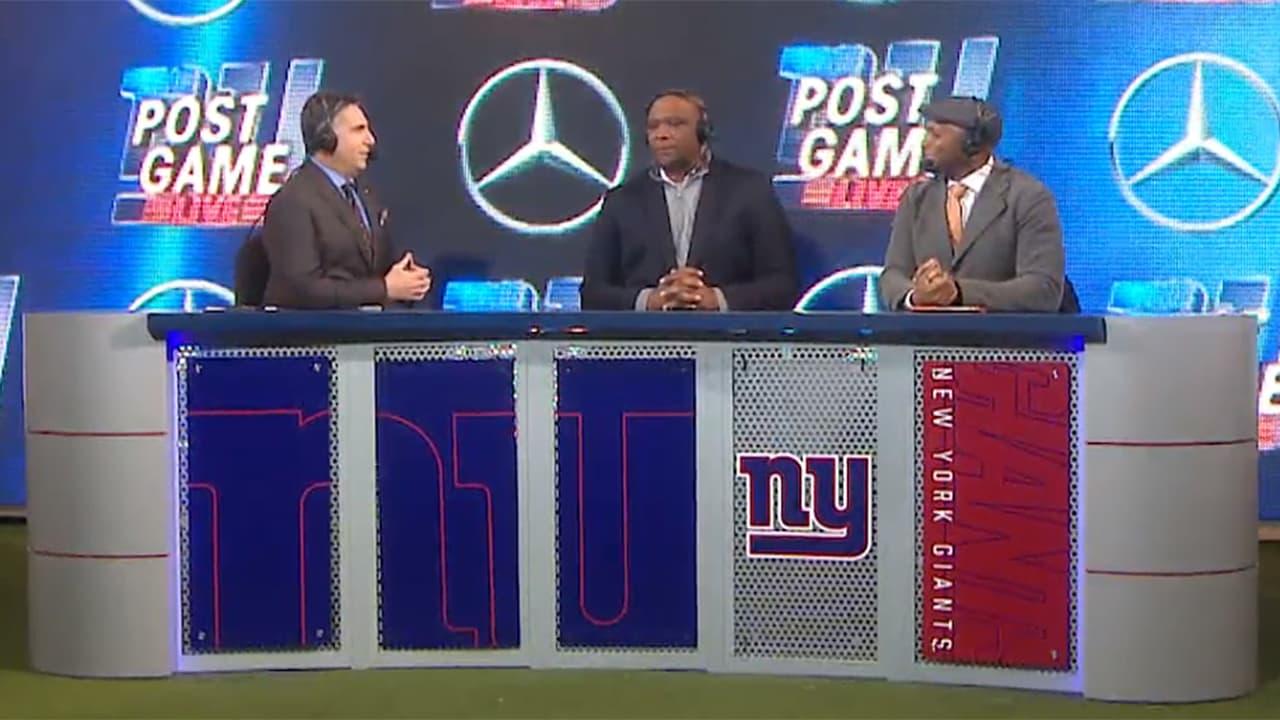 07d335e1b Giants vs. Bears Postgame Show