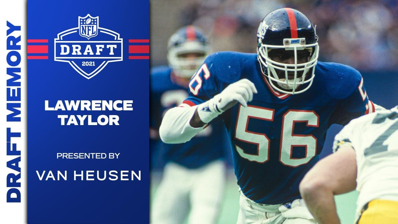 Video: Draft Memory - Lawrence Taylor takes league by storm 40 years ago