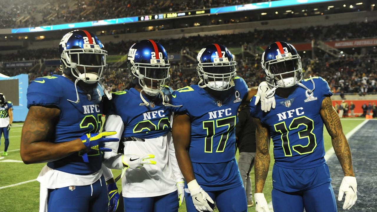 eeccbe19 Through the Years: Giants in the Pro Bowl