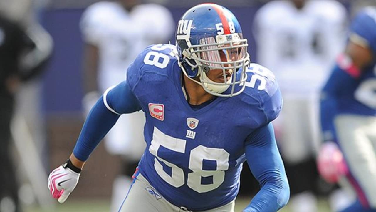 5f4fff93 Giants Chronicles: LB Antonio Pierce