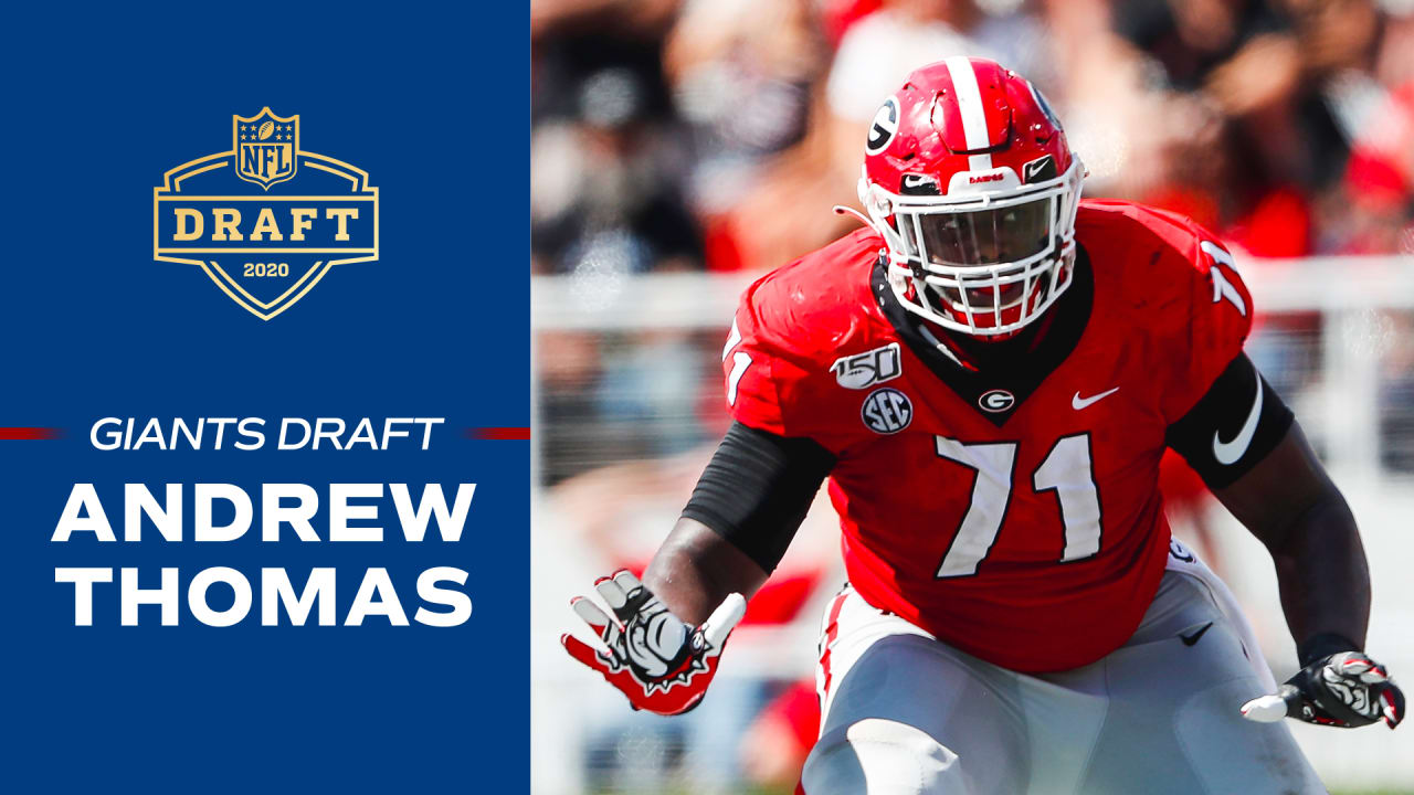 Giants draft Andrew Thomas: Bob Papa and Shaun O'Hara break down ...