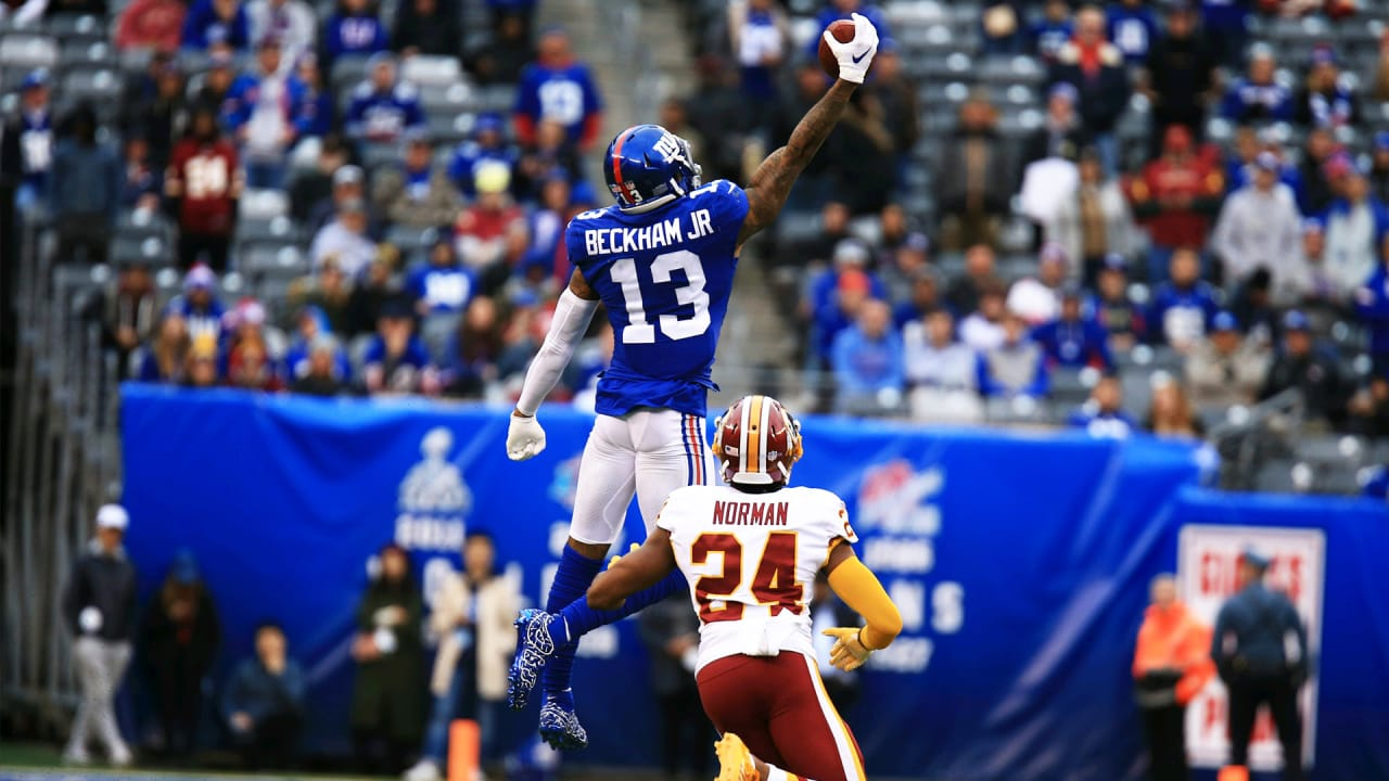incredible off OBJ one-handed shows span with catch wing