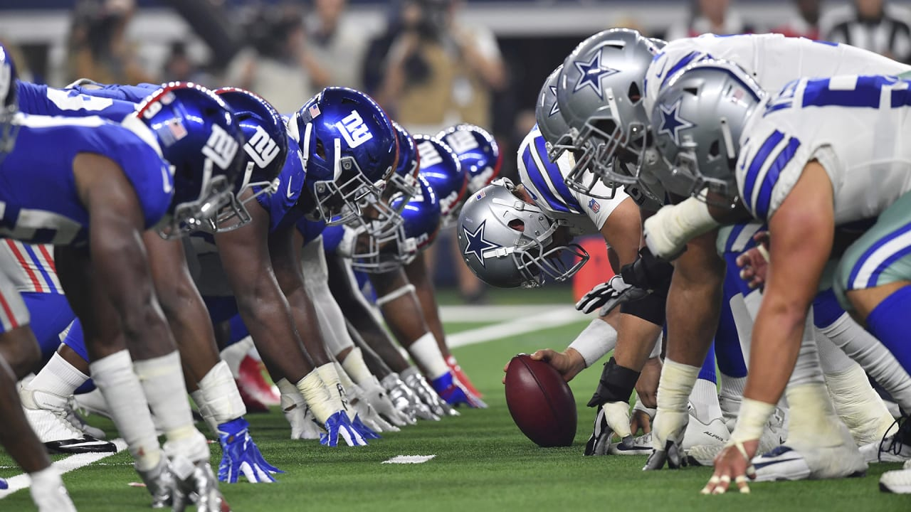 Dallas Cowboys Vs New York Giants