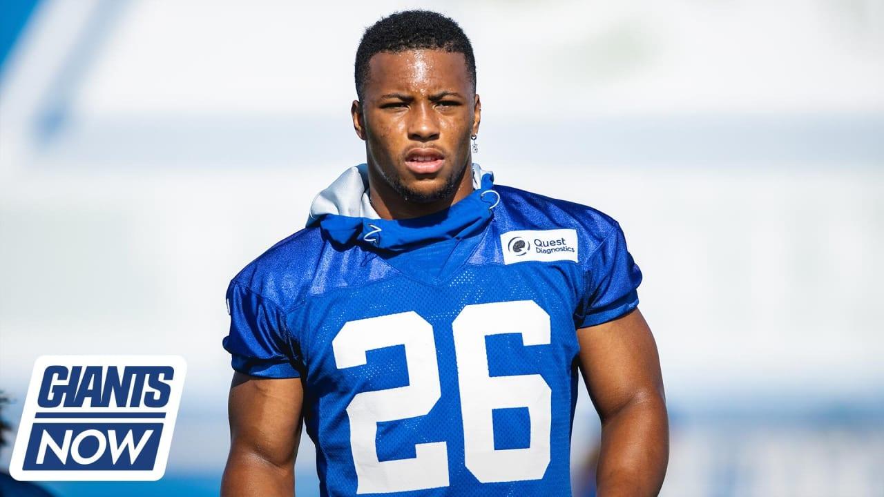 Giants Now: Saquon 'feeling good' with comeback