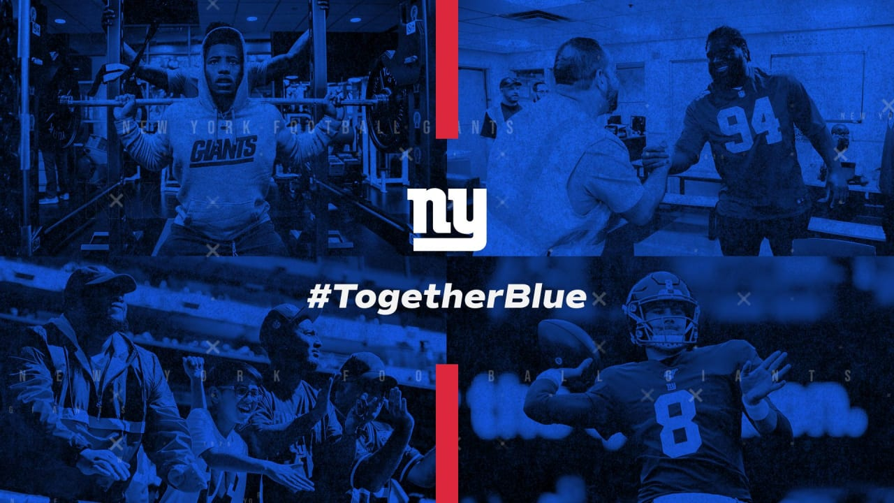Giants announce #TogetherBlue campaign