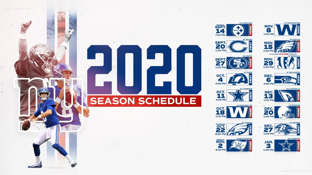 2020 nfl strength of schedule giants have seventh easiest path 2020 nfl strength of schedule giants
