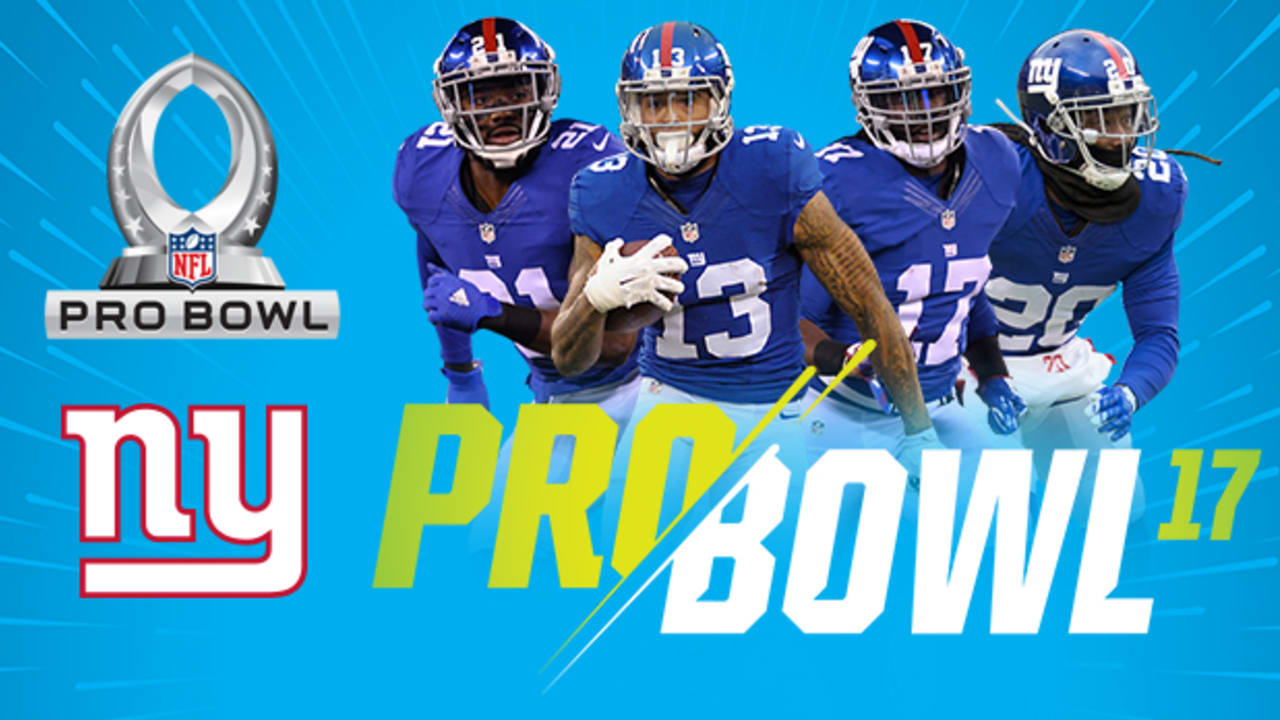 32ae34b2 Odell Beckham Jr. among four Giants named to Pro Bowl