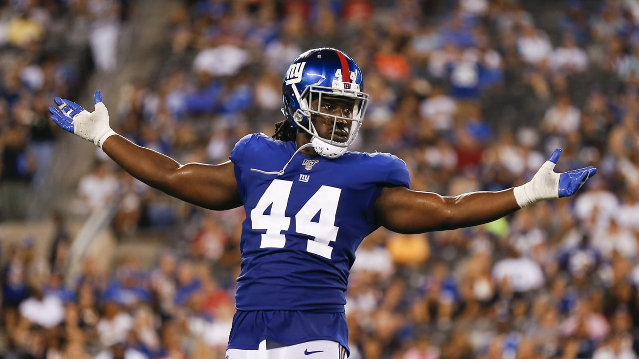 markus golden first giants lb to 10 sacks since lawrence taylor markus golden first giants lb to 10