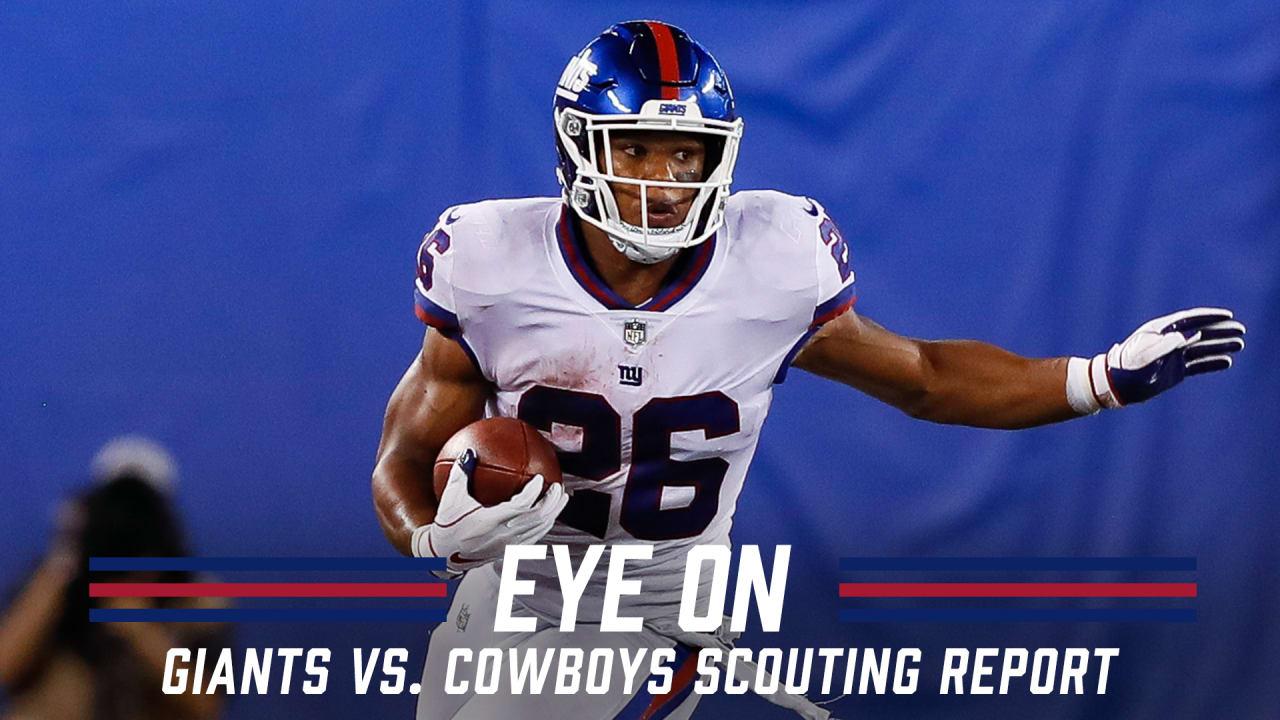 Scouting Report New York Giants Vs Dallas Cowboys 2019 Week 9
