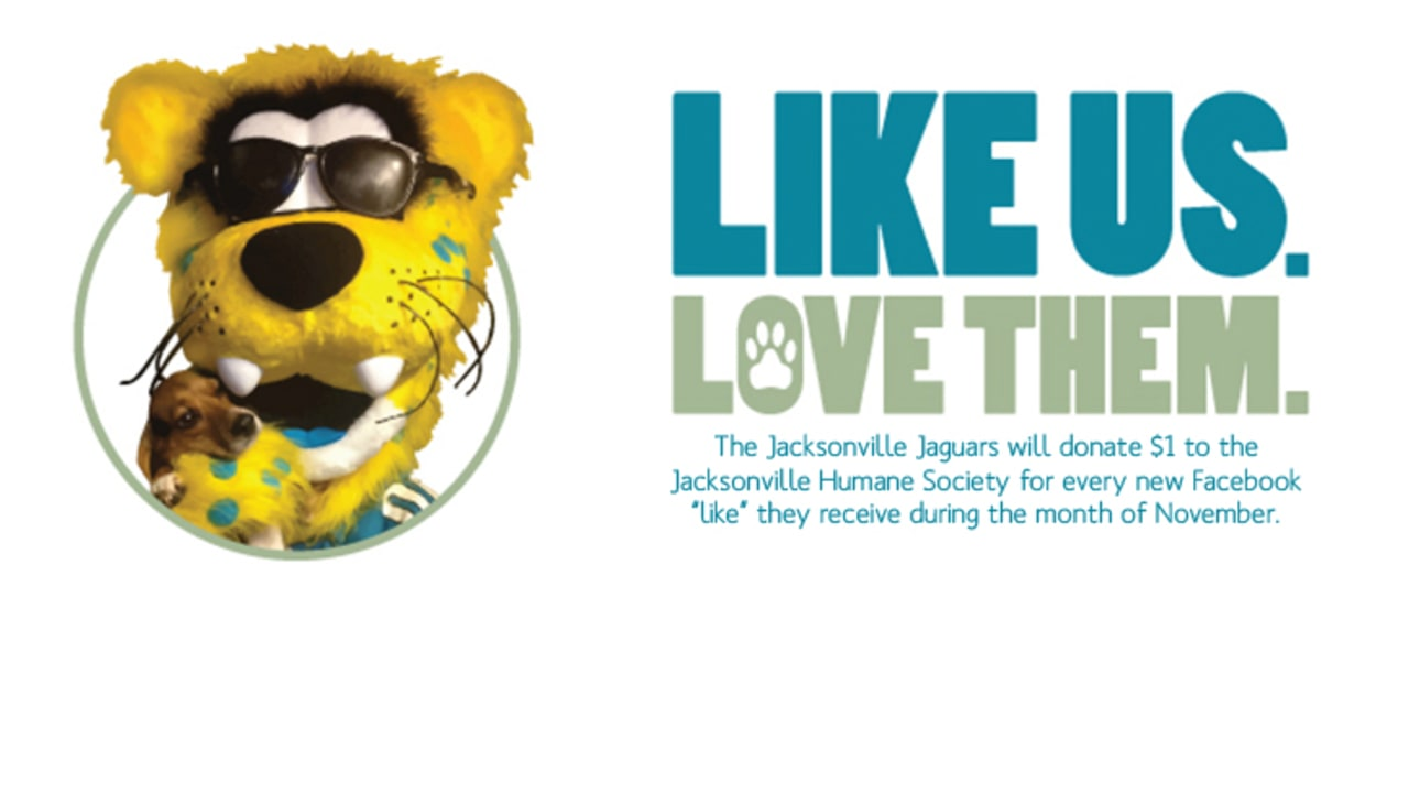 Jaguars launch social media campaign to benefit the