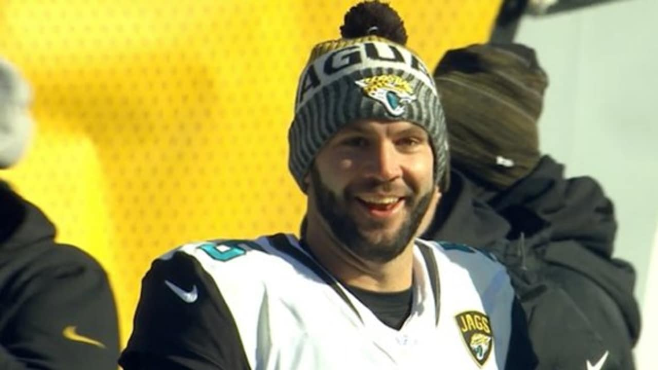 Blake Bortles sideline reactions in divisional win over Steelers bcbe5c2404d