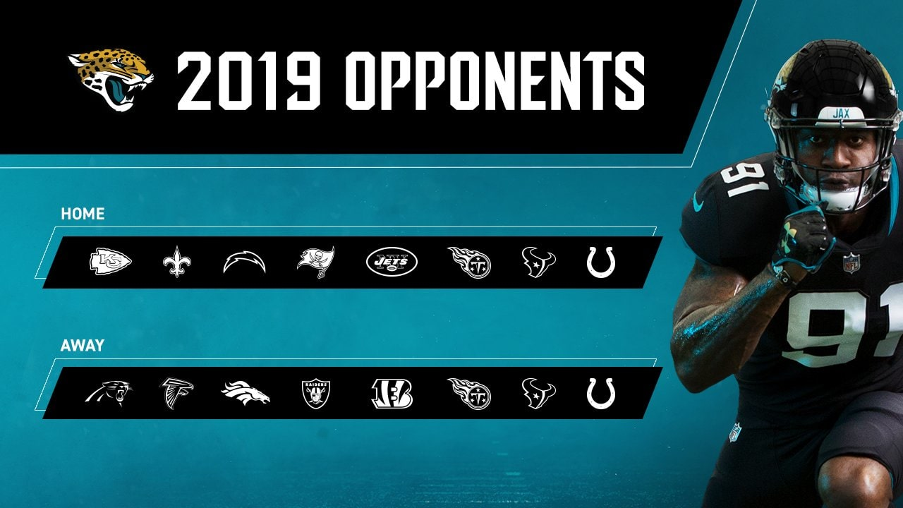 70bc3696 Jaguars: 2019 opponents, first-round draft position set