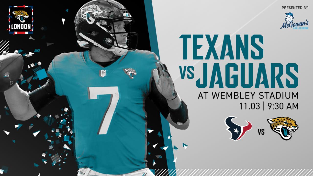 e086f212 Official: Texans-Jaguars date set