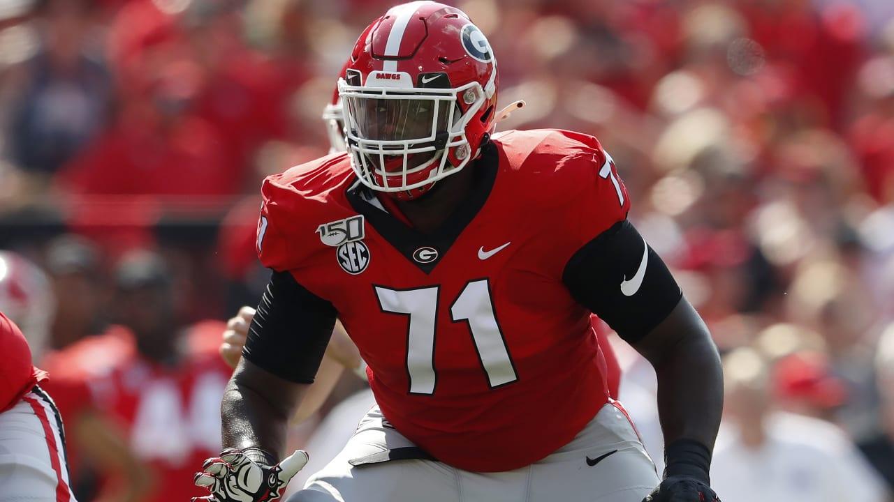 NFL Draft Profile: Georgia T Andrew Thomas