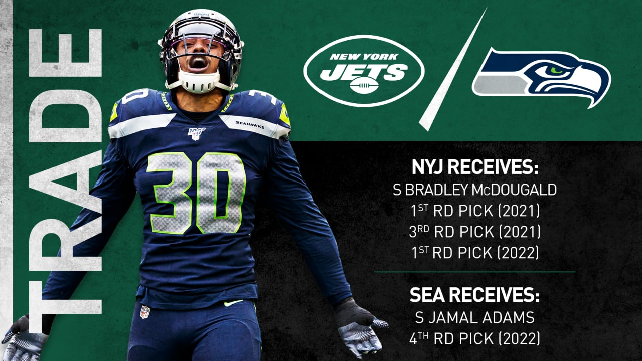 New York Jets Trade Jamal Adams To Seattle Seahawks Acquire Two First Round Draft Picks