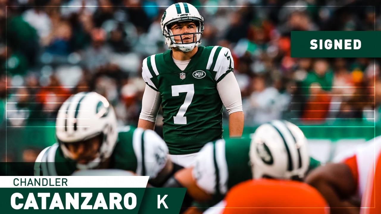 Jets Sign Kicker Chandler Catanzaro