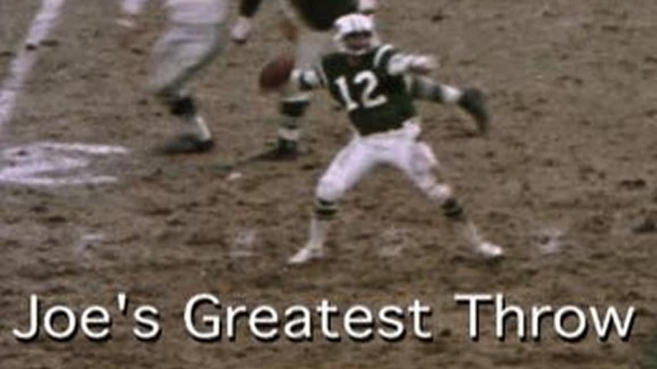 06c69323bea Joe Namath's Greatest Throw