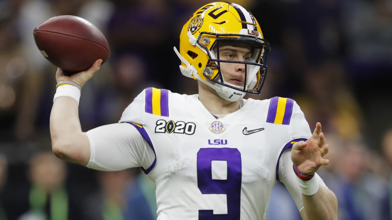 QB Draft Preview: LSU's Joe Burrow Is at the Head of the Class