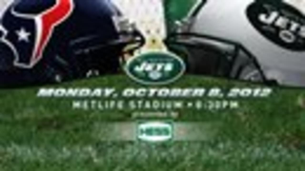 c9ee537a GAMEDAY GUIDE: 10/8 Jets vs. Texans