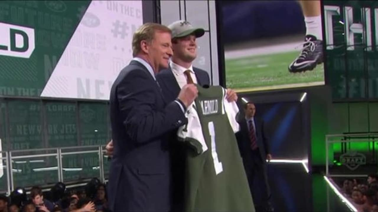 Watch The Jets Select Qb Sam Darnold No 3 In The Draft