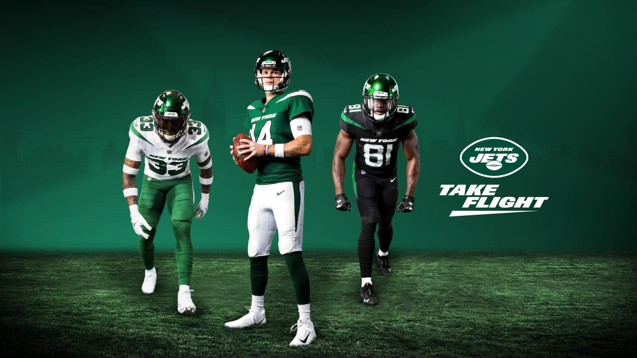 big sale cec9f c282b Take Flight: New Jets Uniforms Another Symbol of a New Era