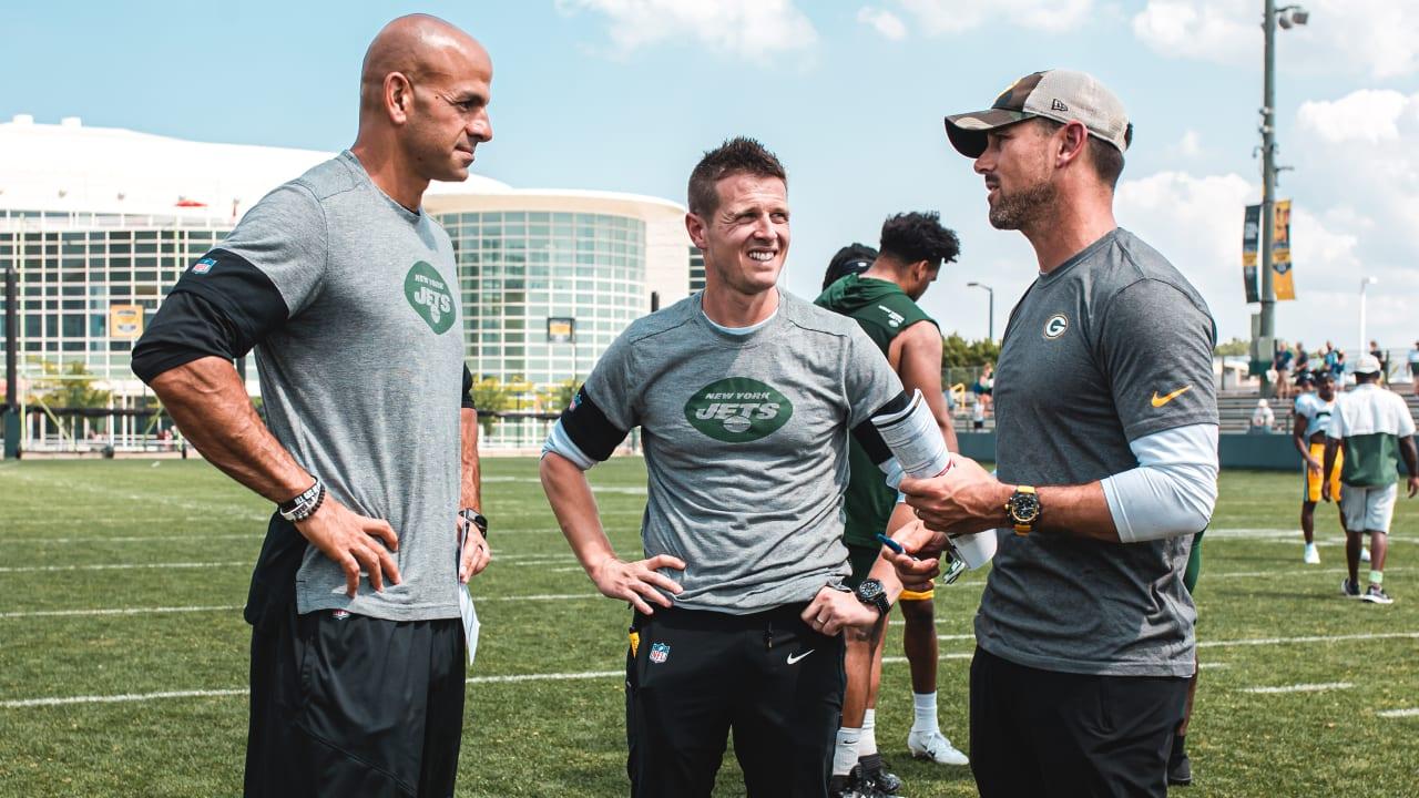 Jets' Robert Saleh, Packers' Matt LaFleur Have Quickly Become Great NFL  Frenemies