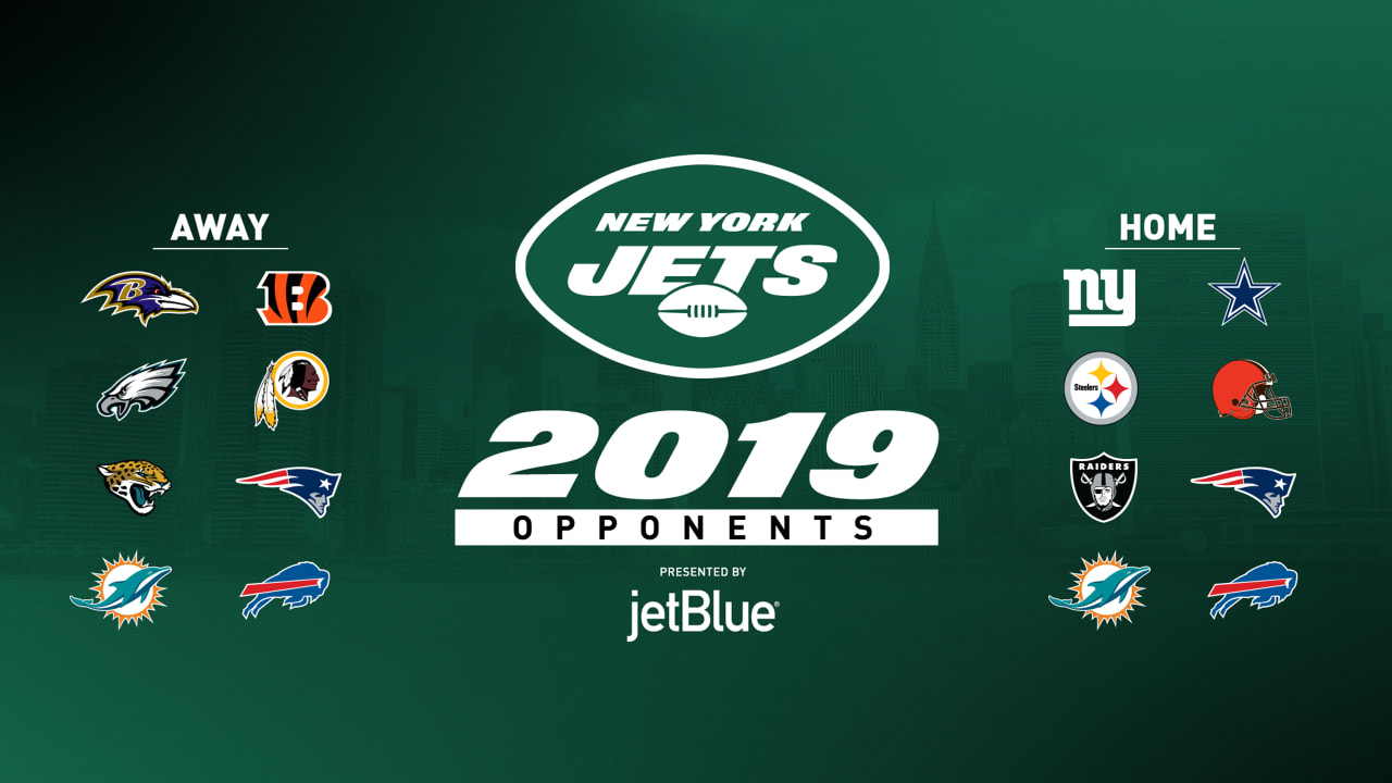 Calendrier Nfl 2020 2019.Which Teams Will The Jets Play In 2019