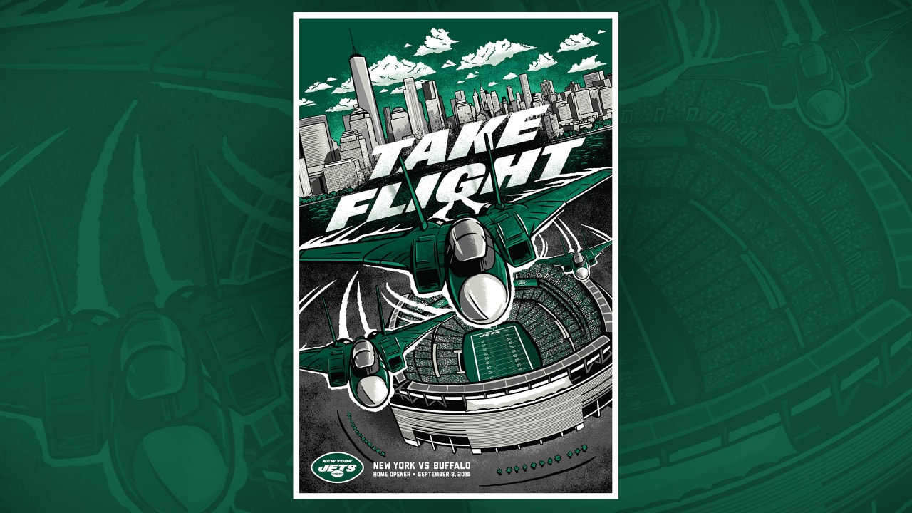 Jets Launch 2019 Gameday Poster Series At Home Opener