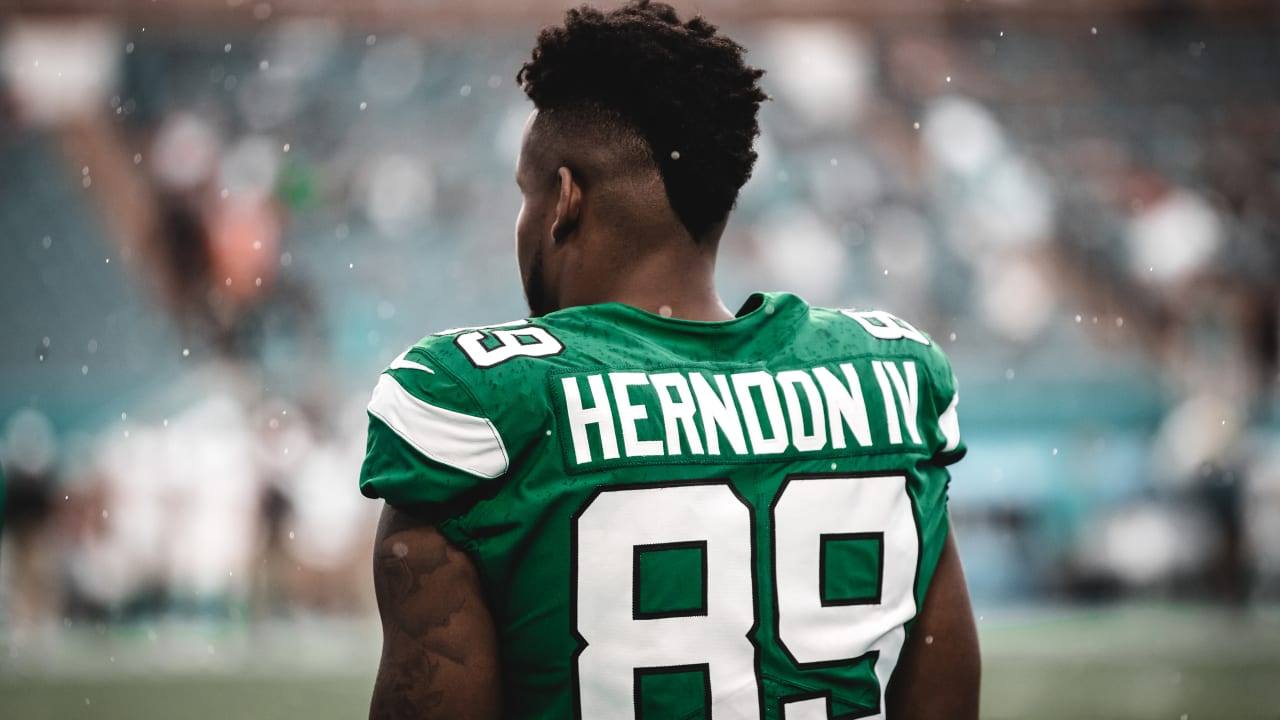 Jets TE Reset: Chris Herndon 'More Motivated Than Ever'