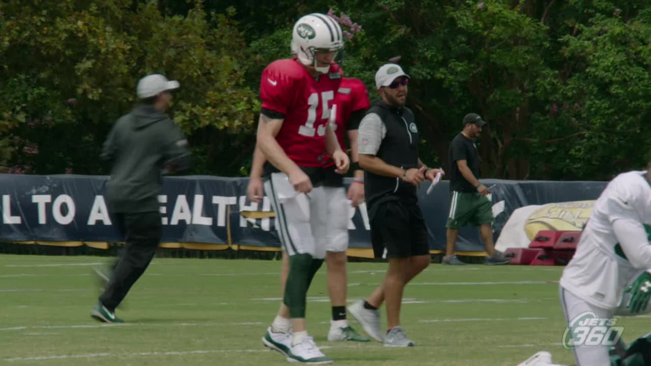 Joint Practice Highlight: Josh McCown to Terrelle Pryor