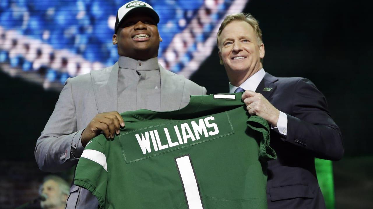 66de9e76 Jets Select Alabama DL Quinnen Williams No. 3 in the 2019 Draft