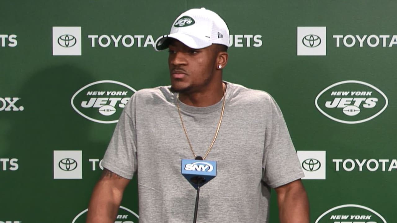 new product 49603 dd83e CB Bless Austin Brings Intriguing Intangibles to the Jets