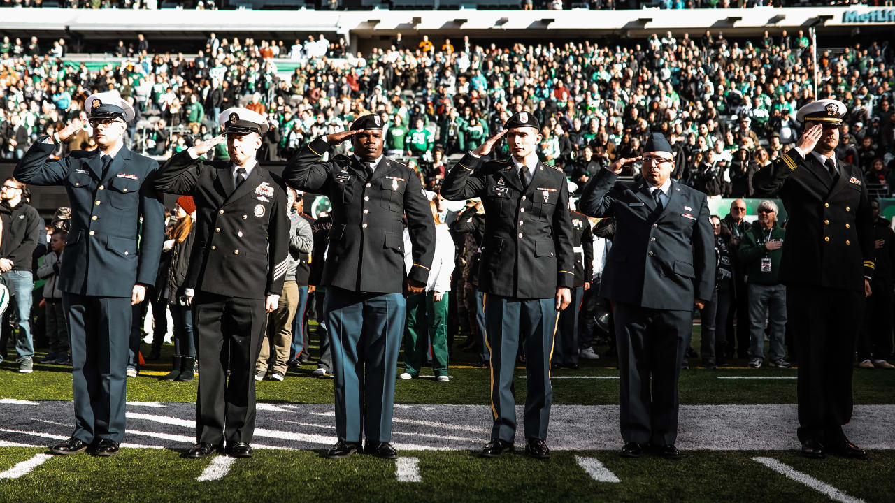 promo code be333 dbcf4 Jets to Honor Service Men and Women During Salute to Service ...