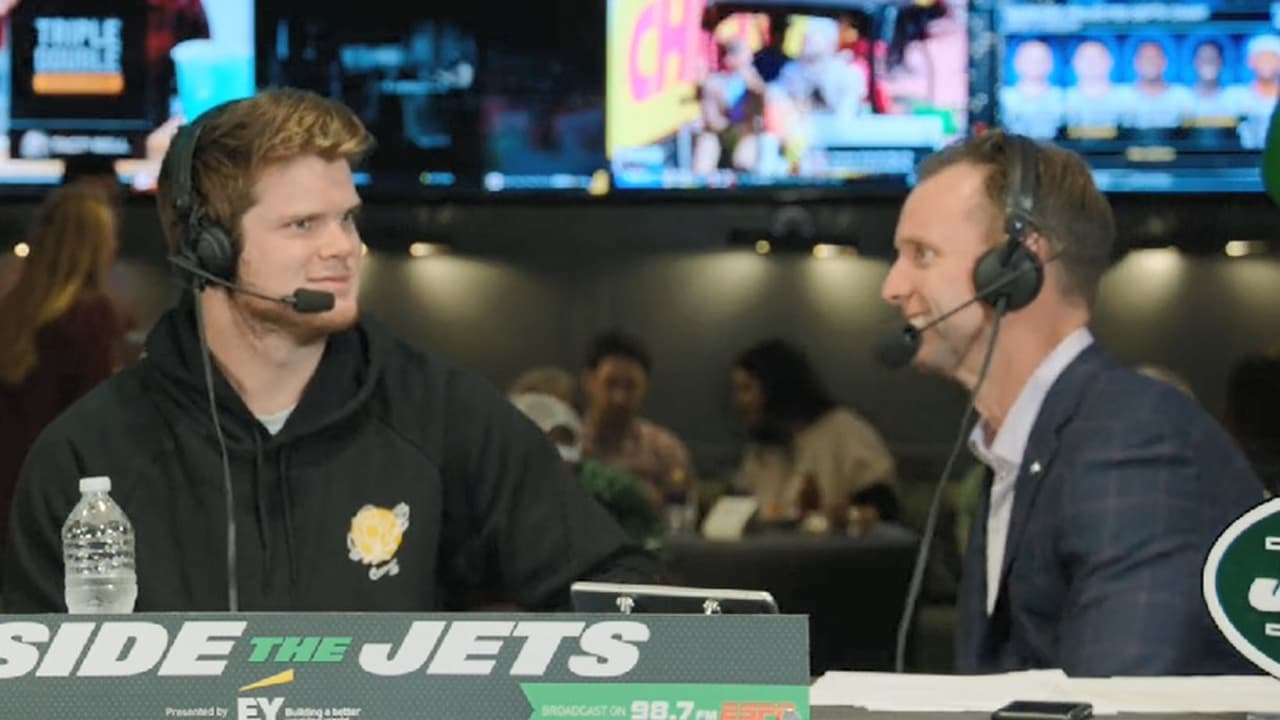 Sam Darnold Interview On Inside the Jets