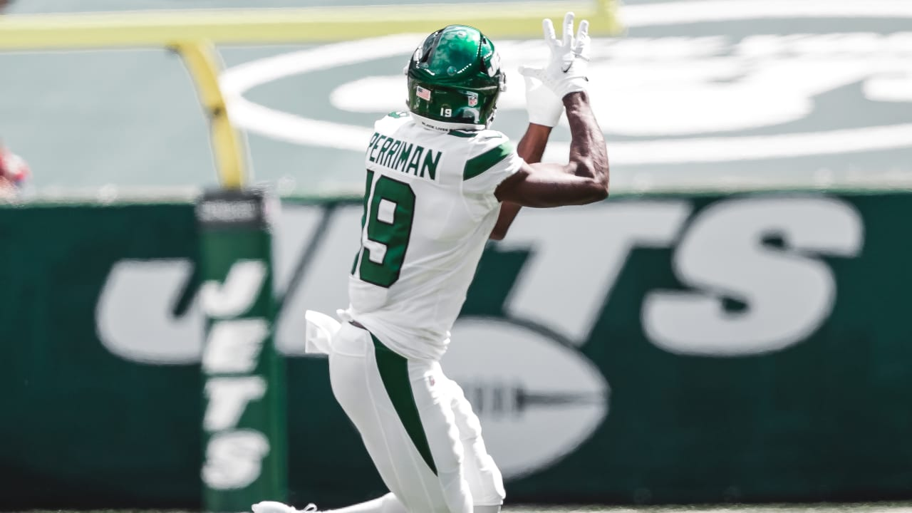 Jets' WR Breshad Perriman Questionable for Sunday's Game at Dolphins