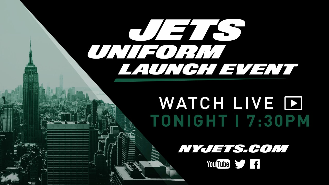 dfe1aa6c54d Watch the Jets Uniform Launch Event Live
