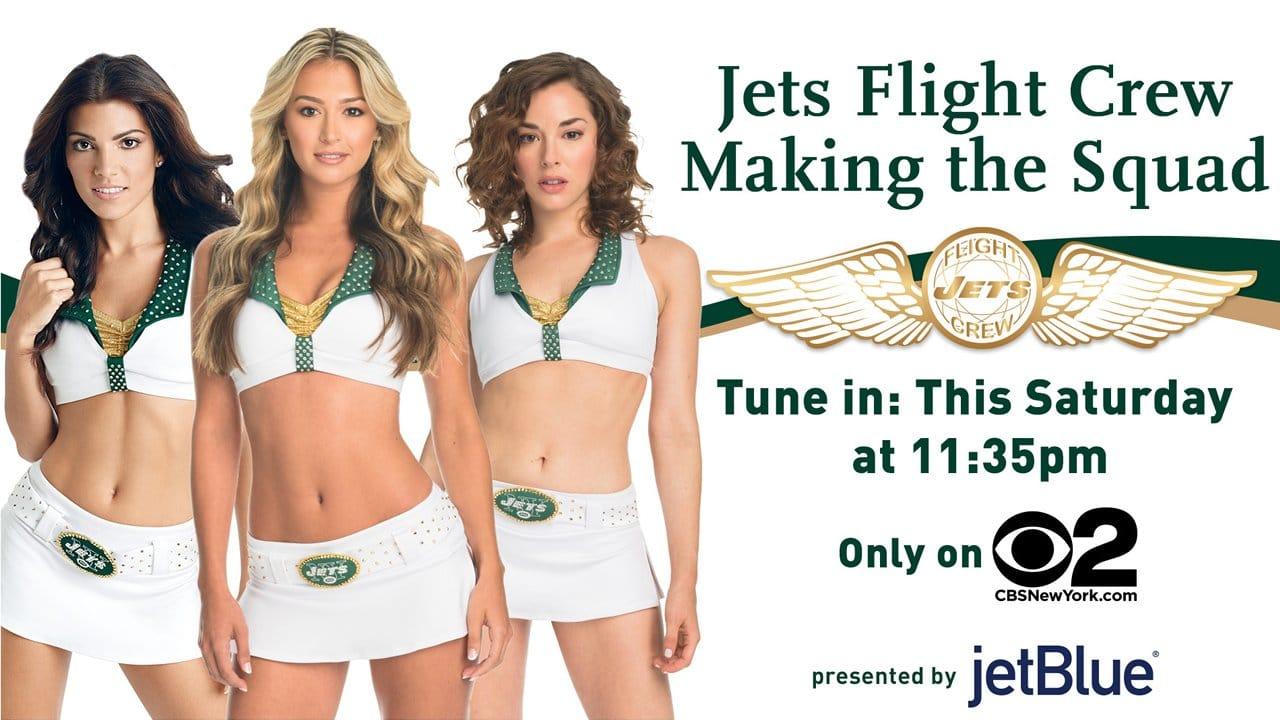 Jets Flight Crew Calendar 2019 FIRST LOOK Jets Flight Crew  Making the Squad