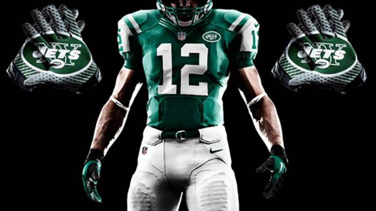 1fe51cc0568 Nike Unveils New Jets Uniforms
