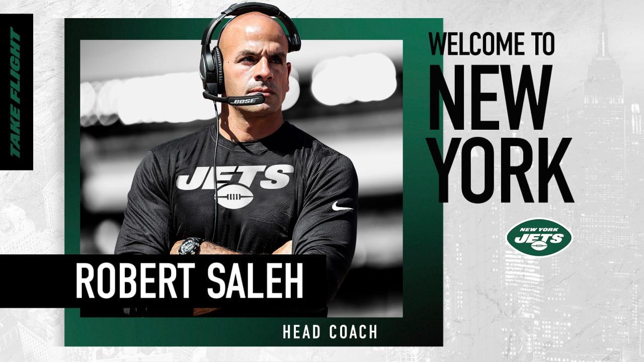 Robert Saleh Named Head Coach of the Jets - newyorkjets.com