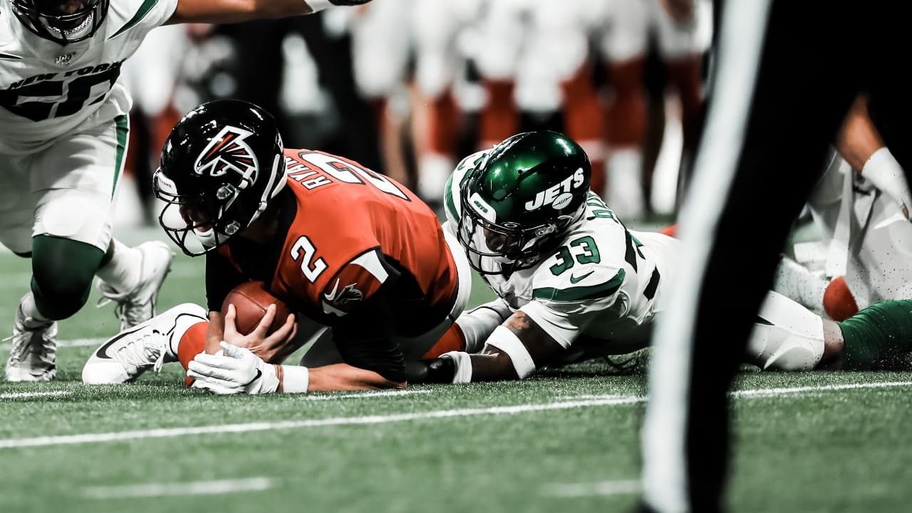 71604a94 Jamal Adams, Jets Bring Heat vs. Falcons