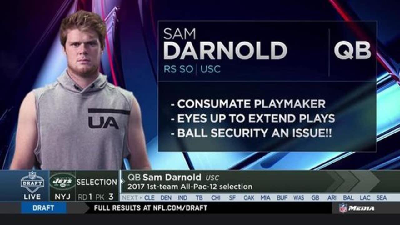 Instant Draft Grade Sam Darnold A