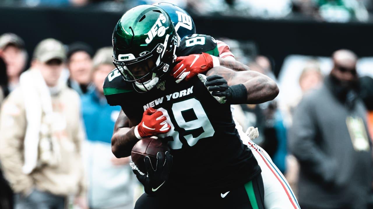 Chris Herndon New York Jets Game Jersey - Black