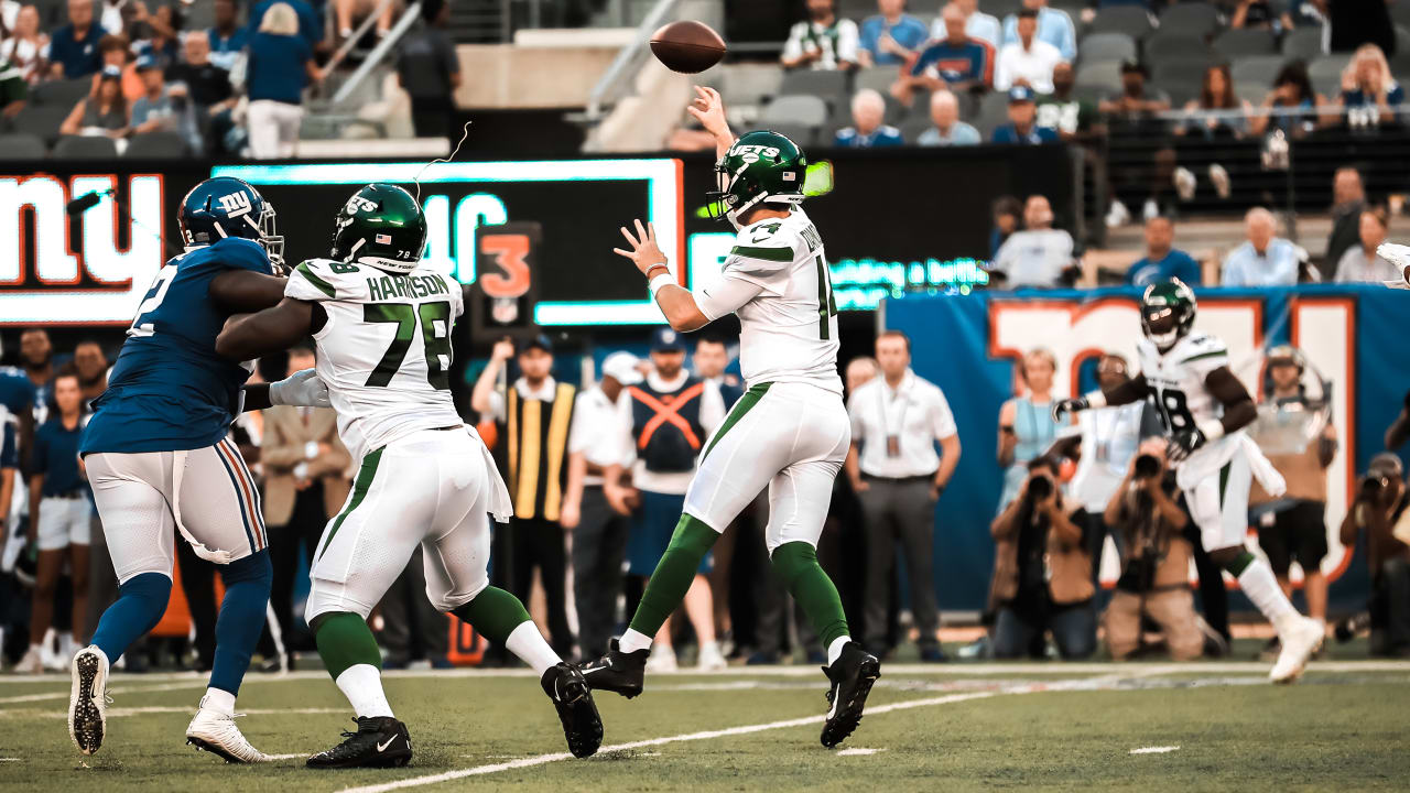 Jets Qb Sam Darnold Posts Perfect Passer Rating In Preseason