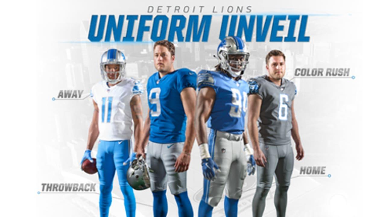 Lions unveil new uniforms
