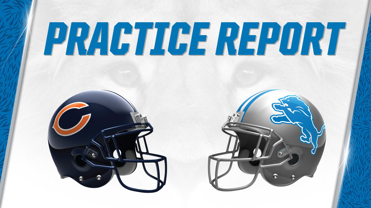 Lions vs. Bears practice report  Nov. 20 ca832c581