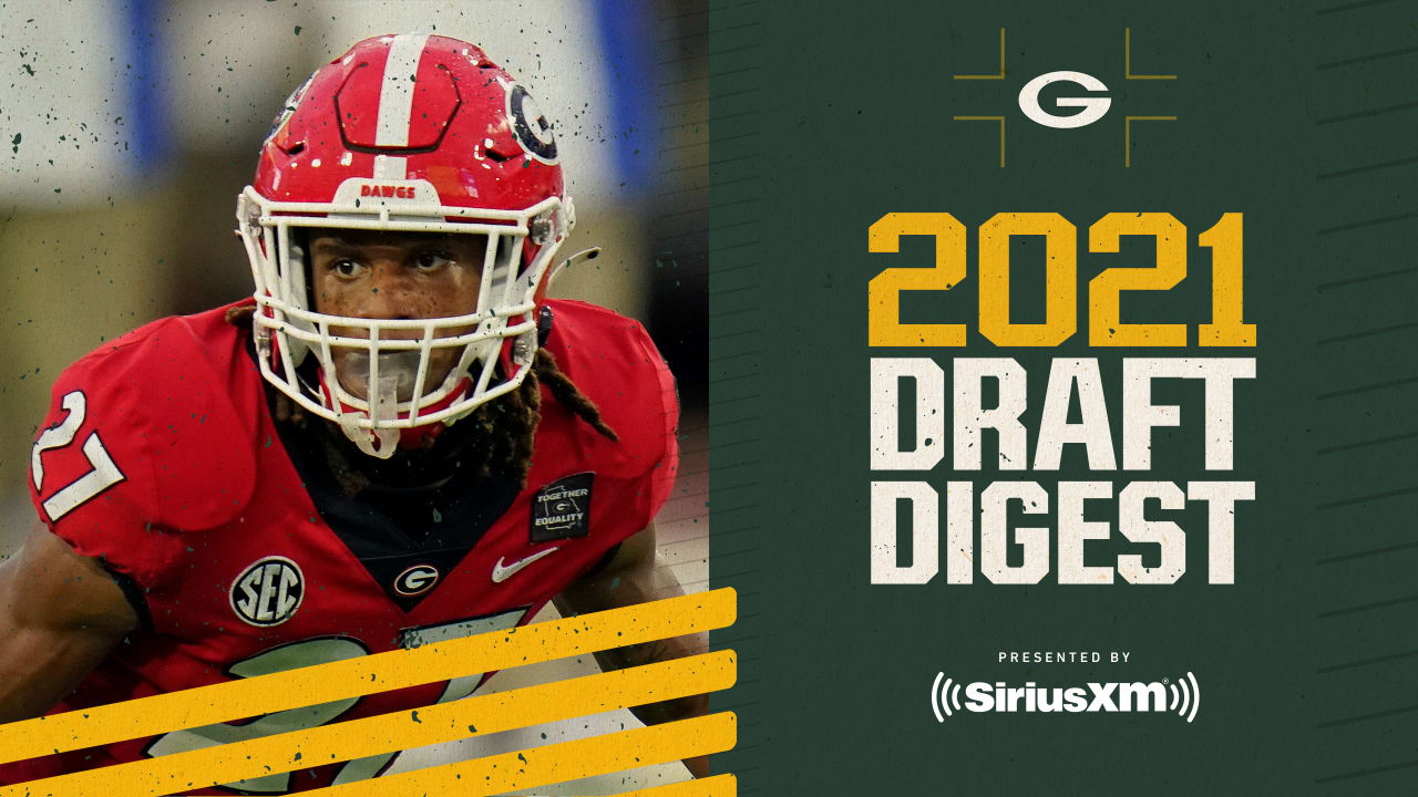 Draft Digest: Eric Stokes, CB, Georgia
