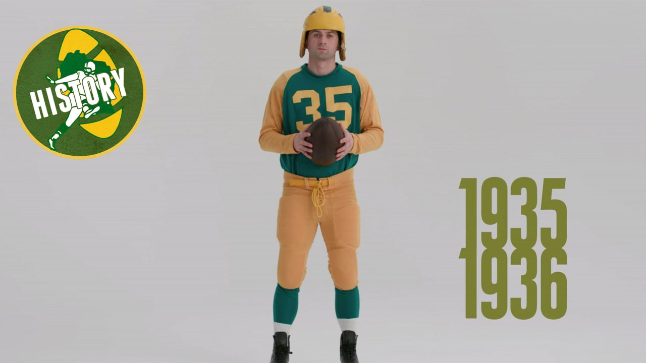 promo code 1a26f a19c9 Packers first wore green jerseys in 1935